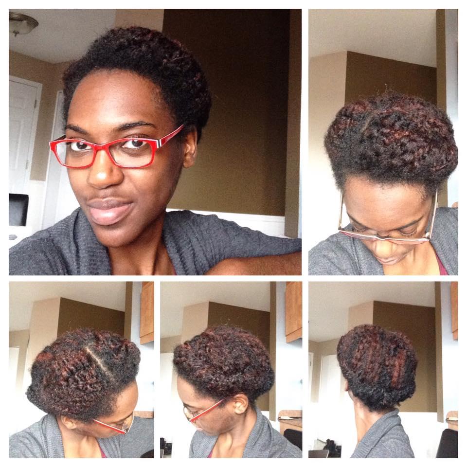 La coiffure protectrice judith dee 39 s world - Coiffure semi attache ...