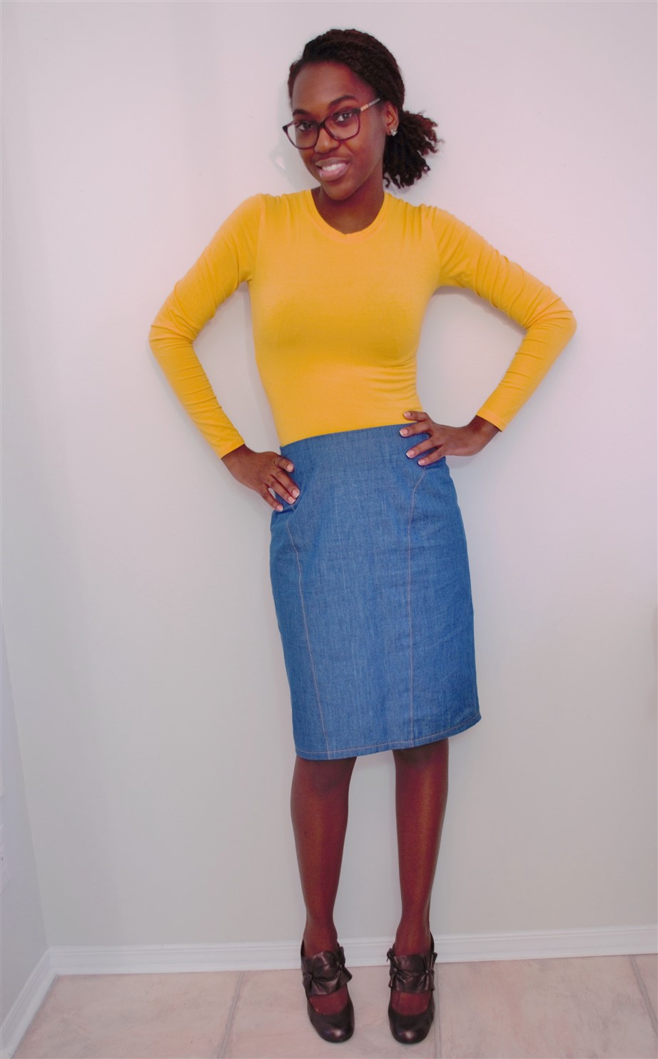 7072e8c04 Butterick 5566 Pencil skirts! ~ Judith Dee's World